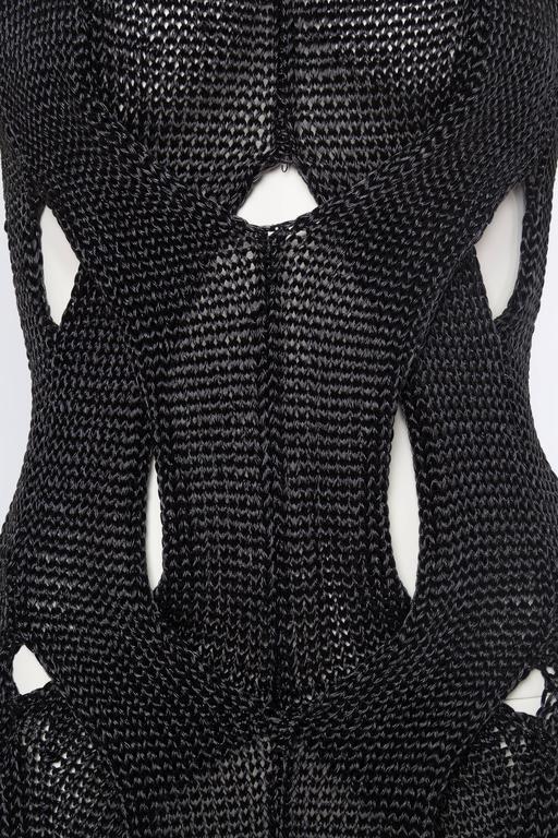 Alexander Wang Metallic Knit Dress For Sale 4