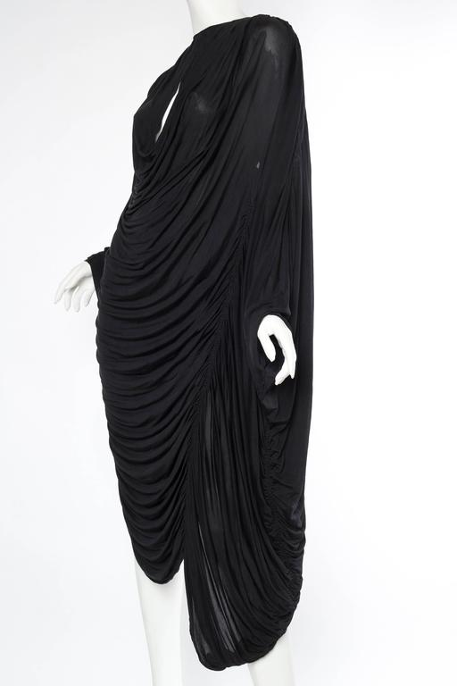 Women's Extraordinarily Rare Very Early Issey Miyake Silk Jersey Dress For Sale