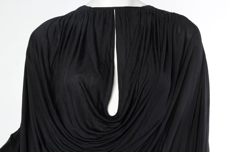 Extraordinarily Rare Very Early Issey Miyake Silk Jersey Dress For Sale 2