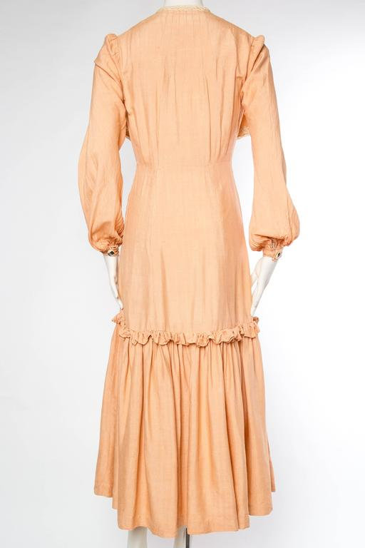 1930s Silk Duster Coat 6