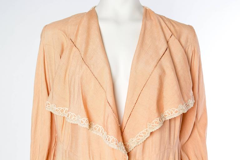 1930s Silk Duster Coat 7
