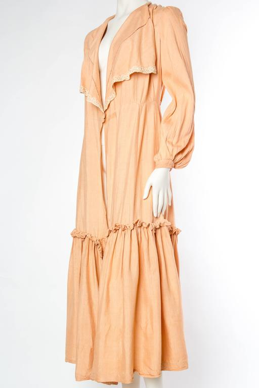 1930s Silk Duster Coat 5
