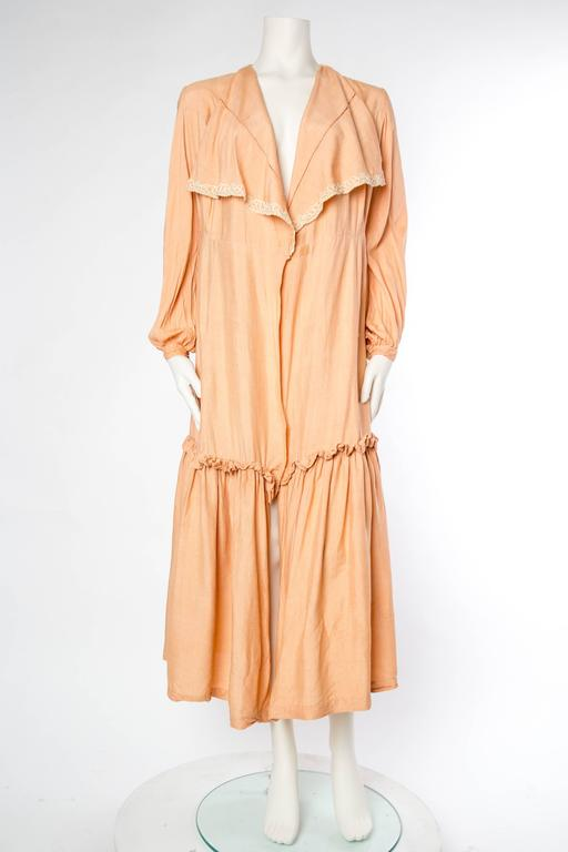 1930s Silk Duster Coat 3