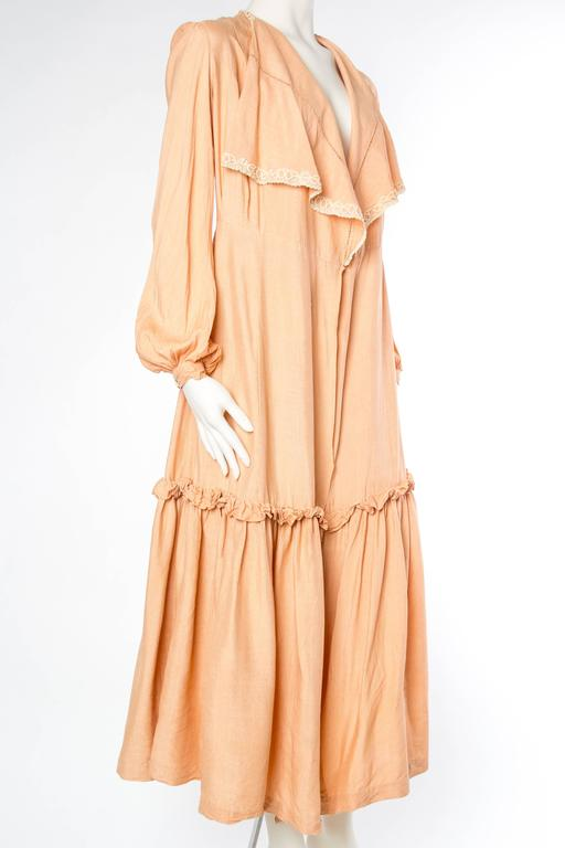 1930s Silk Duster Coat 4