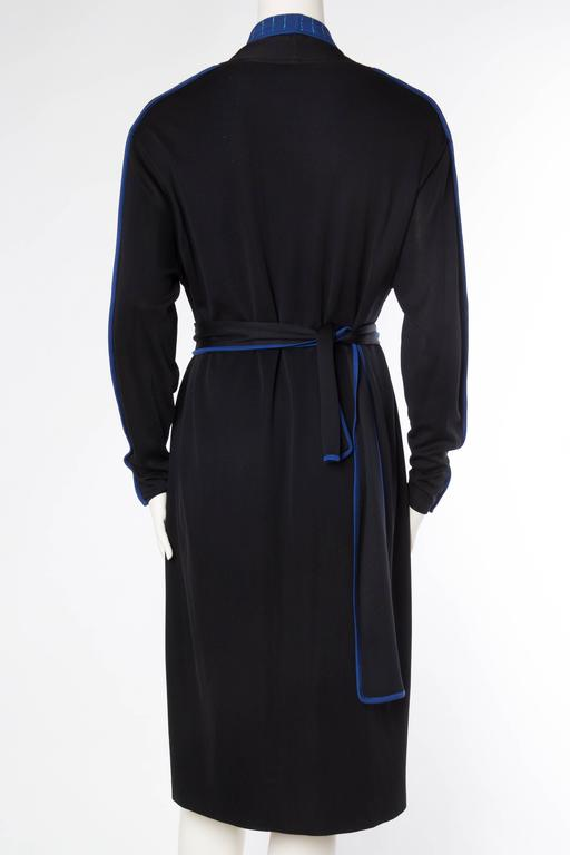 Women's 1970s Issey Miyake Jersey Cardigan Dress For Sale