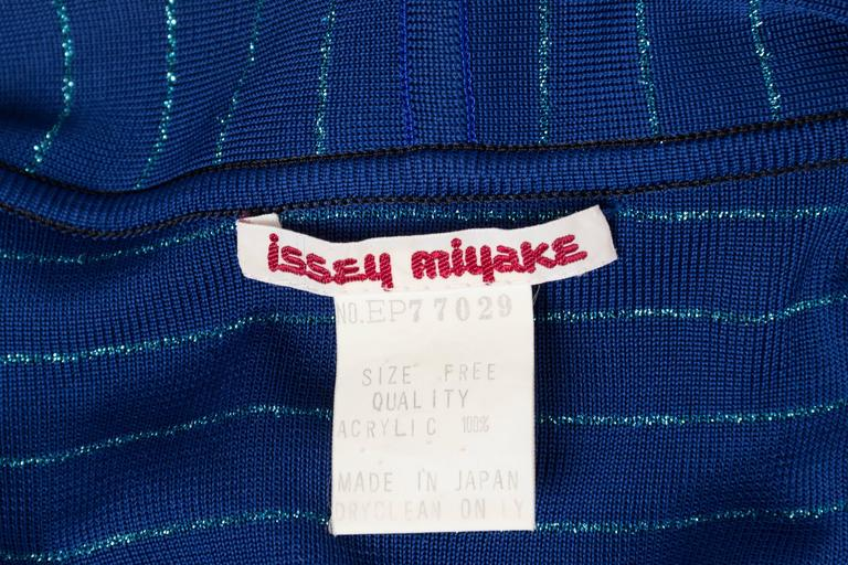 1970s Issey Miyake Jersey Cardigan Dress For Sale 4