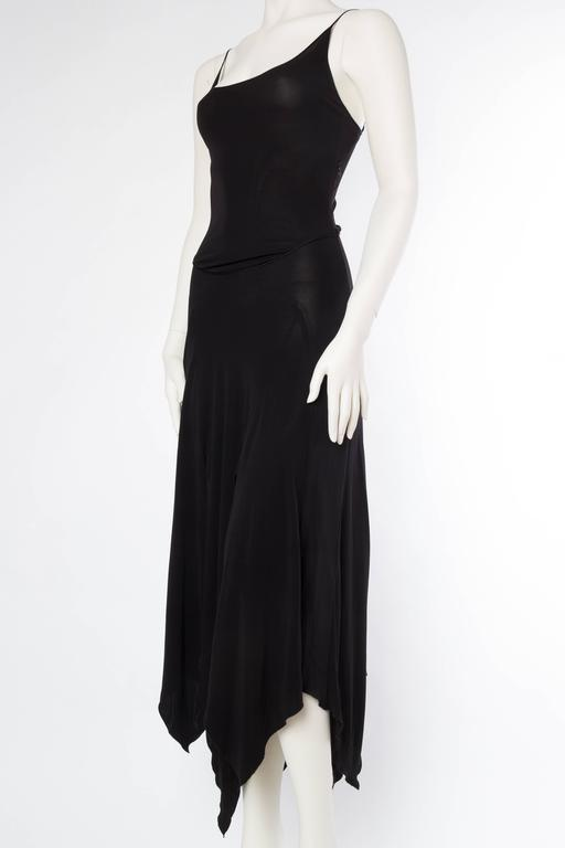 Women's Givenchy Spandex Dancer Style Dress with High Slits For Sale
