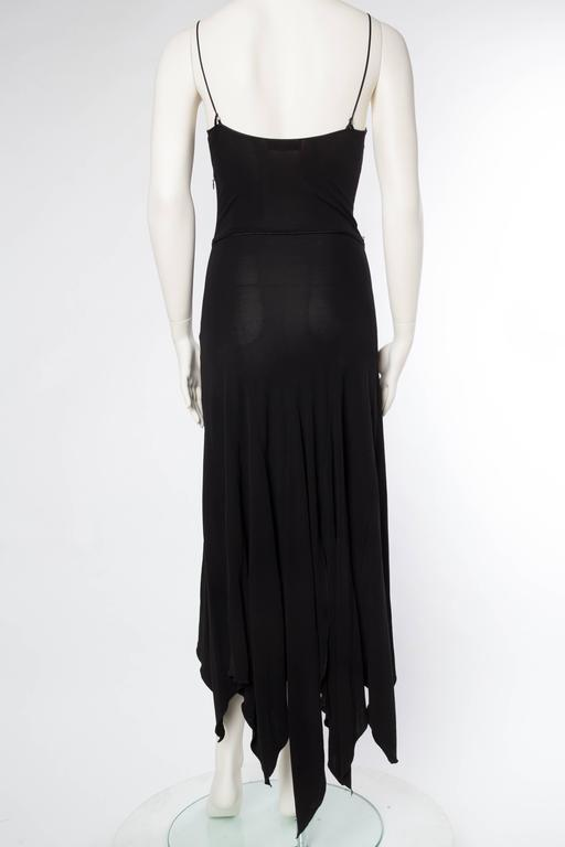 Givenchy Spandex Dancer Style Dress with High Slits For Sale 1