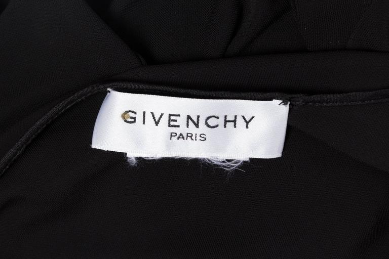 Givenchy Spandex Dancer Style Dress with High Slits For Sale 5