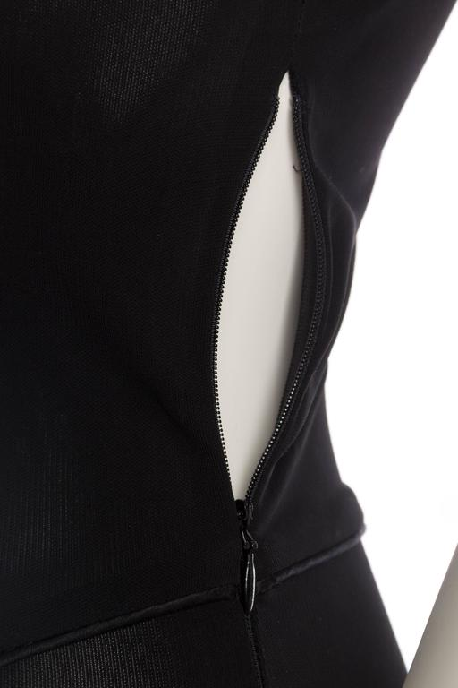Givenchy Spandex Dancer Style Dress with High Slits For Sale 4