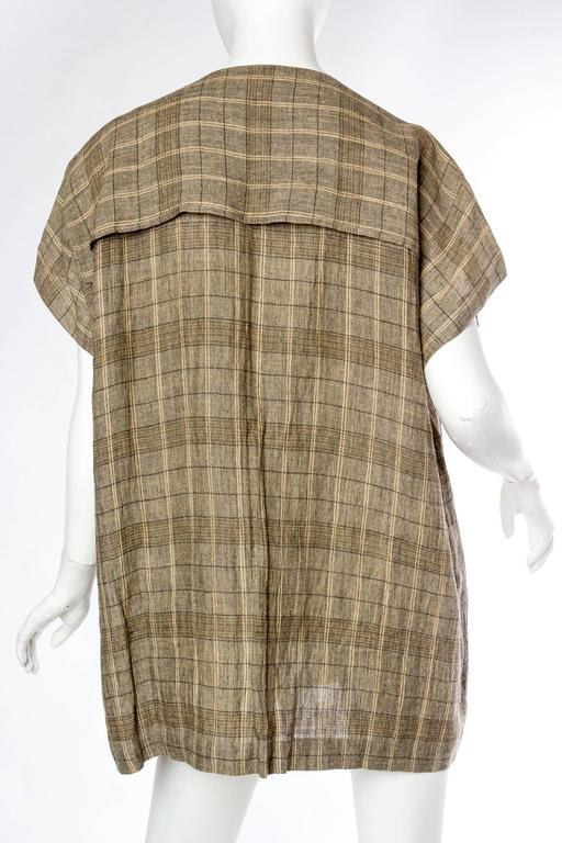 Women's or Men's Mens Issey Miyake Linen Shirt For Sale