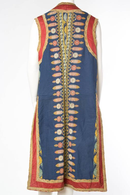 Persian Inspired Victorian Opera Costume Tunic Vest In Good Condition For Sale In New York, NY