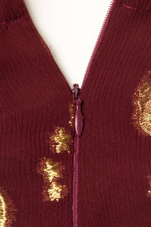 Jean Paul Gaultier Golden Astrology Skirt Dress For Sale 4