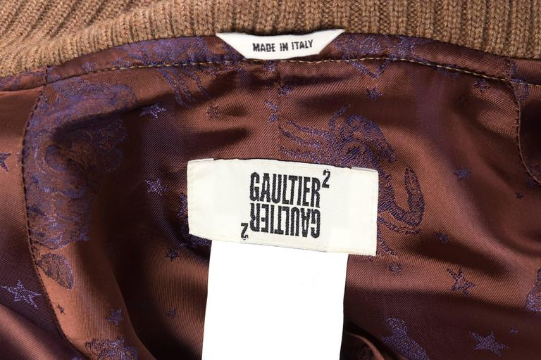 Jean Paul Gaultier Unisex Collection Astrology Trenchcoat  For Sale 5