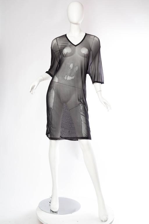 Tom Ford Gucci Sheer Net T-Shirt Dress 2