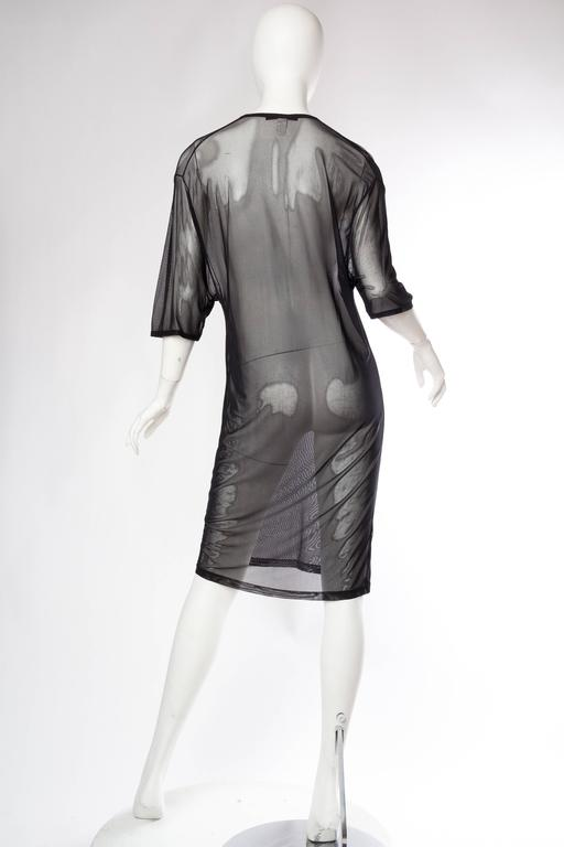 Tom Ford Gucci Sheer Net T-Shirt Dress 6