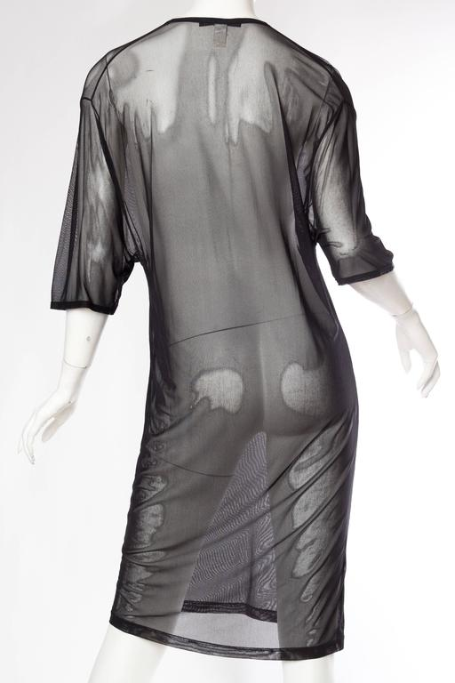 Tom Ford Gucci Sheer Net T-Shirt Dress 5