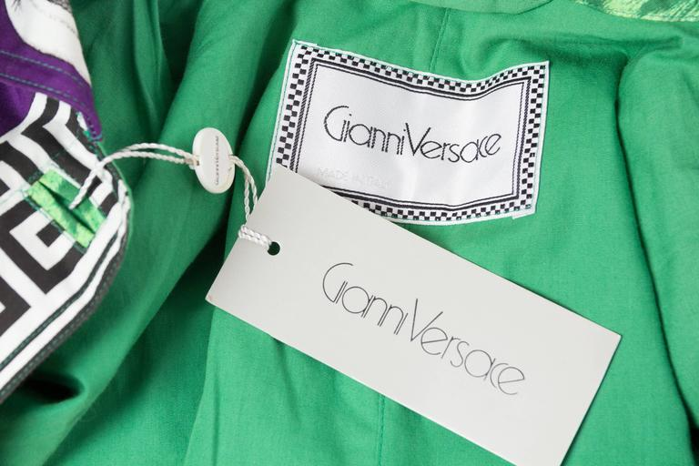 Gianni Versace Ballet Theatre Cinema Bomber Jacket For Sale 5