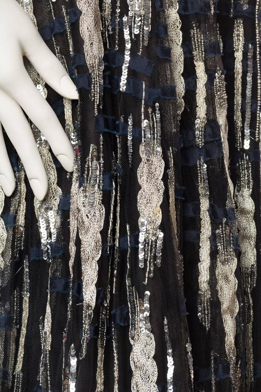 Oscar De La Renta Beaded Tulle Gown For Sale 2