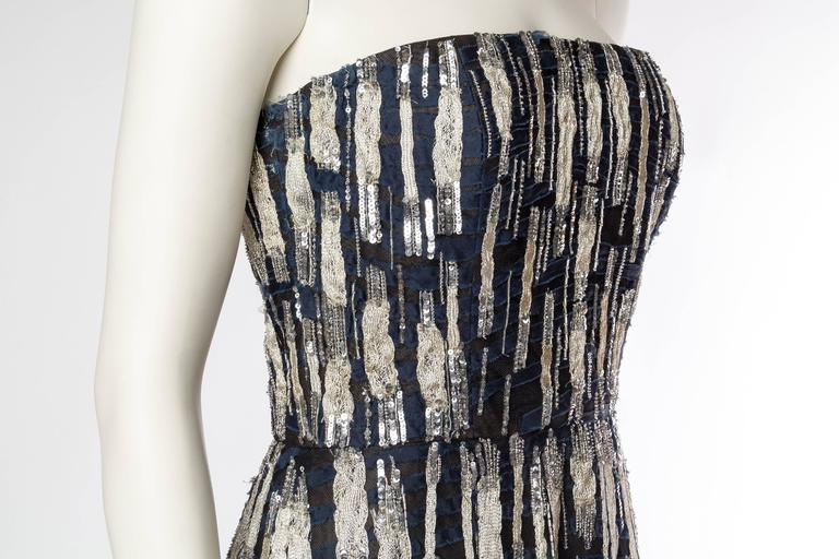 Oscar De La Renta Beaded Tulle Gown For Sale 1