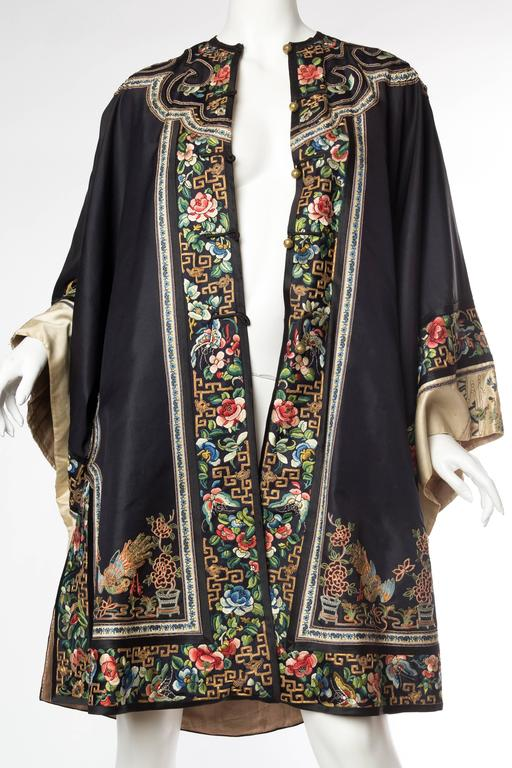 Antique Chinese Embroidered Jacket At 1stdibs