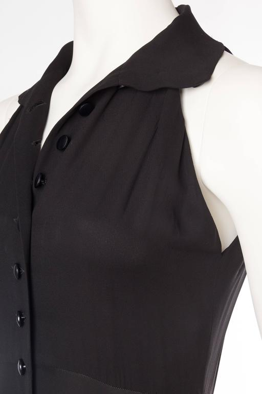1990s Romeo Gigli Shirt Dress with an amazing sweep 6