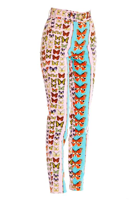 This is the iconic butterfly print as seen on the cover of Vogue in the early 1990s.