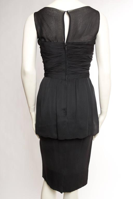 Women's 1950s Christian Dior Cocktail Dress For Sale