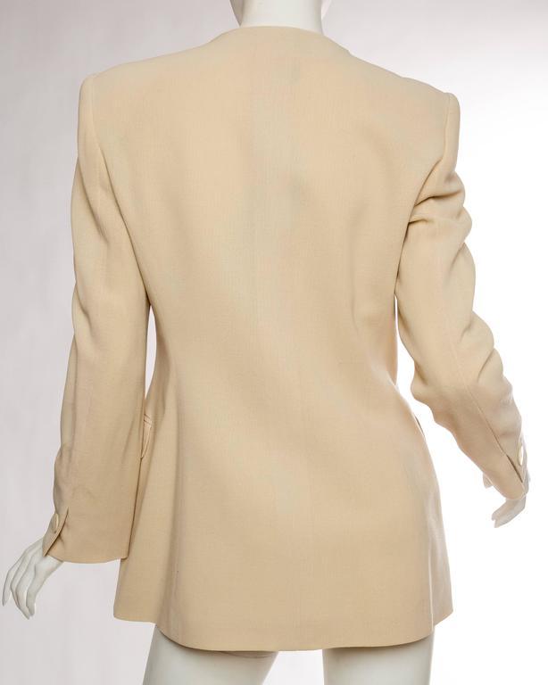 Giorgio Armani Minimalist Blazer For Sale 1