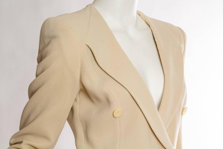 Giorgio Armani Minimalist Blazer For Sale 2