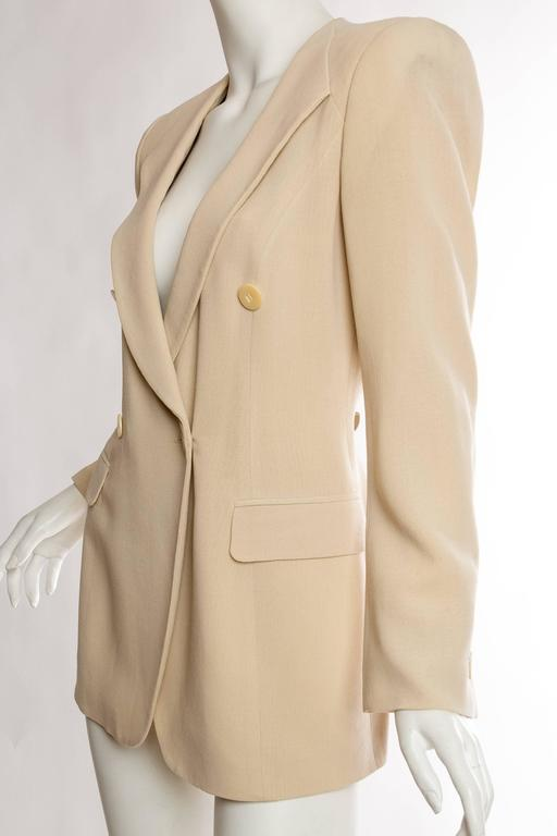 Women's Giorgio Armani Minimalist Blazer For Sale