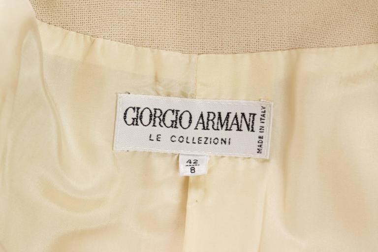 Giorgio Armani Minimalist Blazer For Sale 5