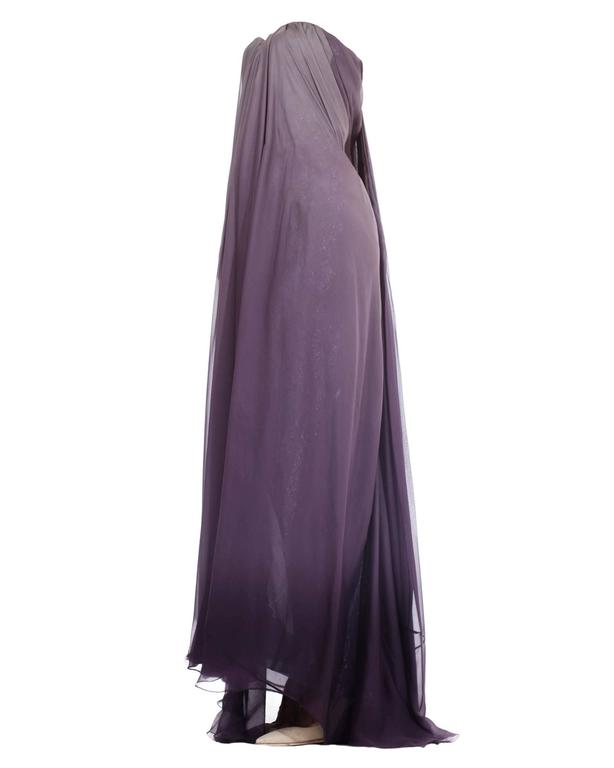 Gray McQueen Purple gown, Autumn/Winter 2004 For Sale