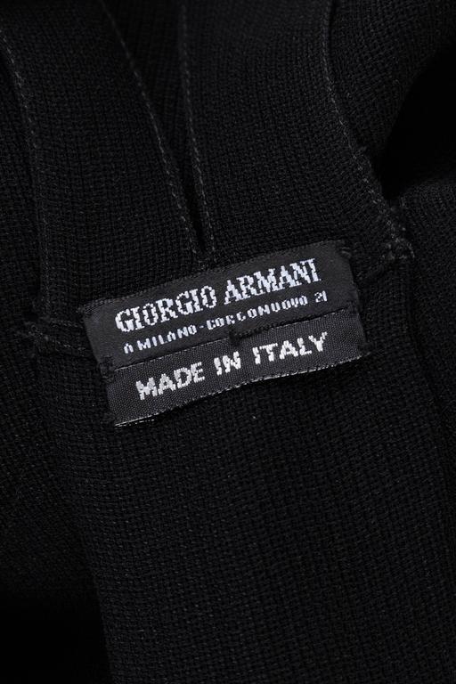 Giorgio Armani Crepe Tunic Blouse For Sale 6