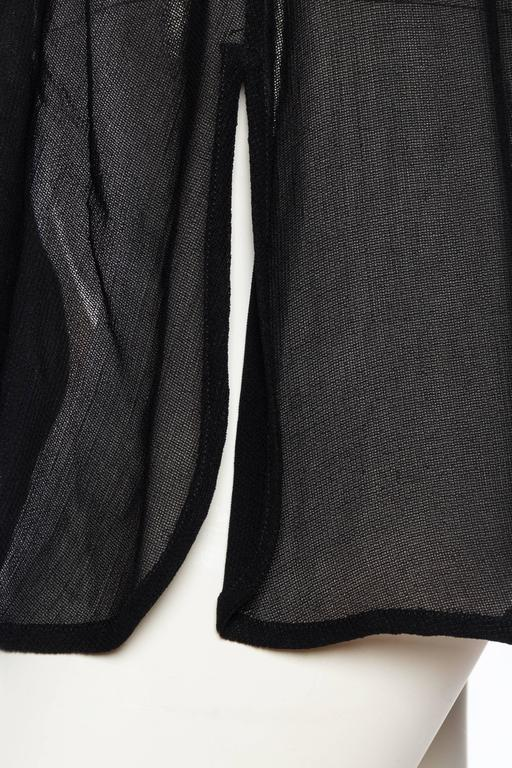 Giorgio Armani Crepe Tunic Blouse For Sale 5