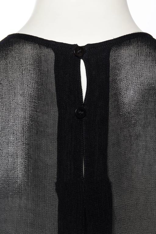 Giorgio Armani Crepe Tunic Blouse For Sale 3