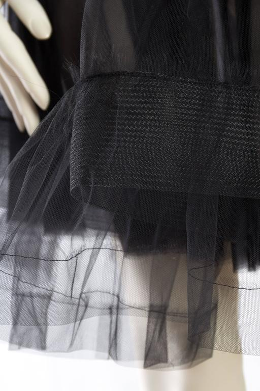 Lanvin Sheer Tulle and Chiffon Skirt 7