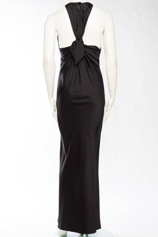 0db032c5d21 Yves Saint Laurent Bias Cut Gown with Cut-out Back. In Excellent Condition  For