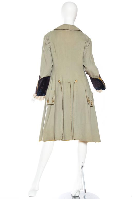 18th Century Style Victorian Era Frock Coat For Sale 1