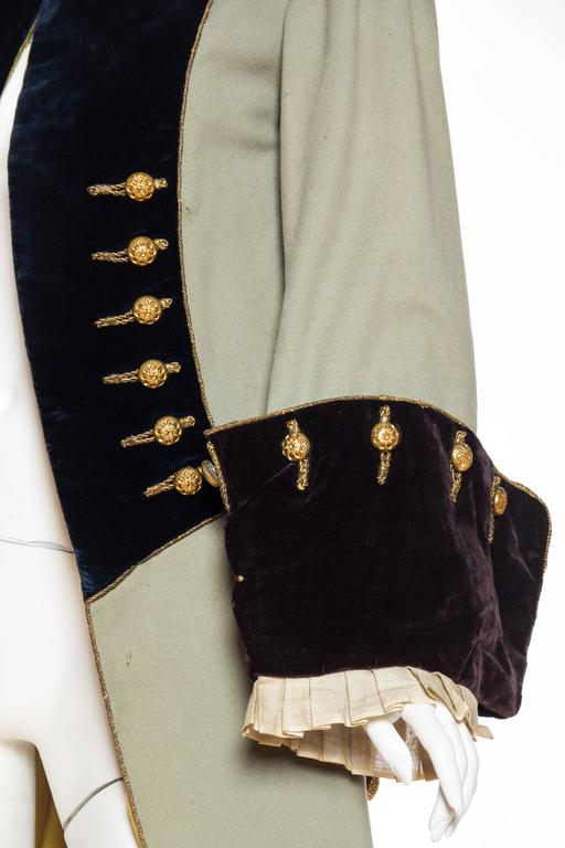 18th Century Style Victorian Era Frock Coat For Sale 3