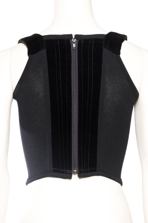 Vivienne Westwood Velvet Corset For Sale 1