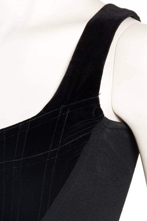 Vivienne Westwood Velvet Corset For Sale 2