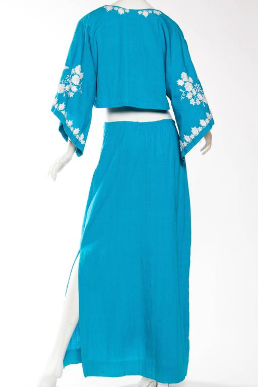 Mexican Embroidered Two Piece Ensemble 6
