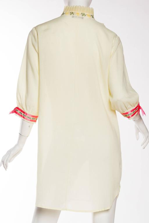1960s Gucci Inspired Babydoll Shirt Dress 6