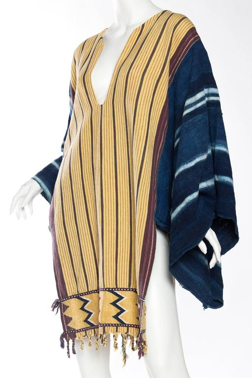 Women's or Men's Handwoven Ethnic Tunic Dress For Sale