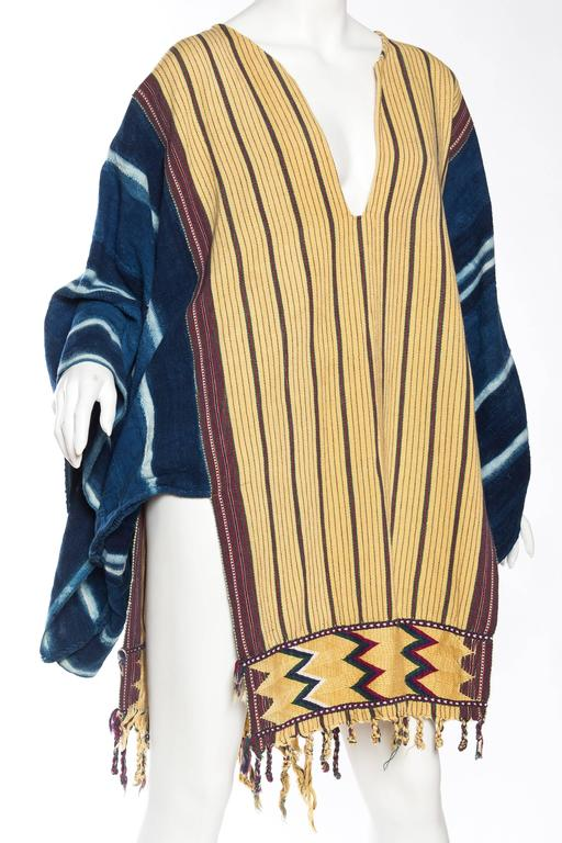 Handwoven Ethnic Tunic Dress For Sale 1