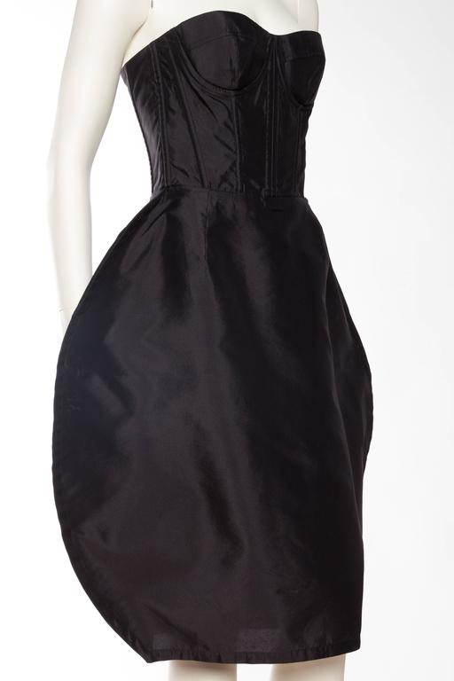 Women's Dolce & Gabbana Corset Circle Dress For Sale