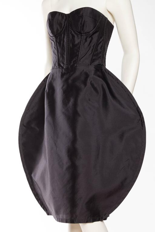 Dolce & Gabbana Corset Circle Dress For Sale 1