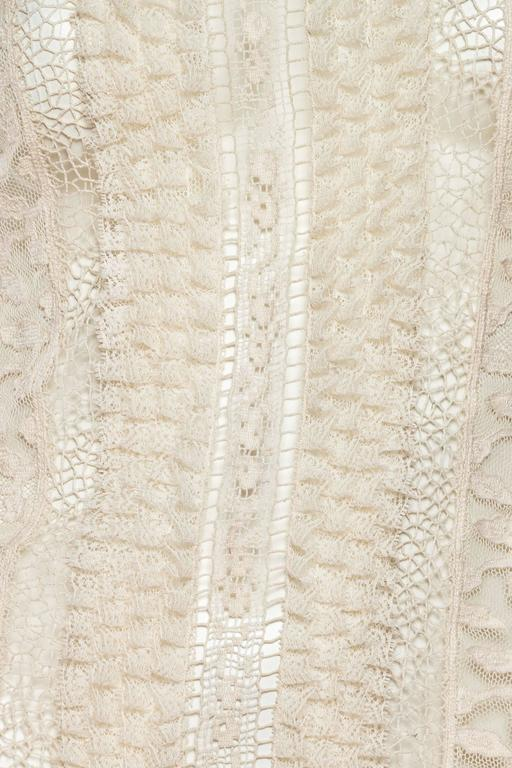 ad4bc13e27b408 Victorian Style Lace and Net Blouse by Oscar De La Renta at 1stdibs