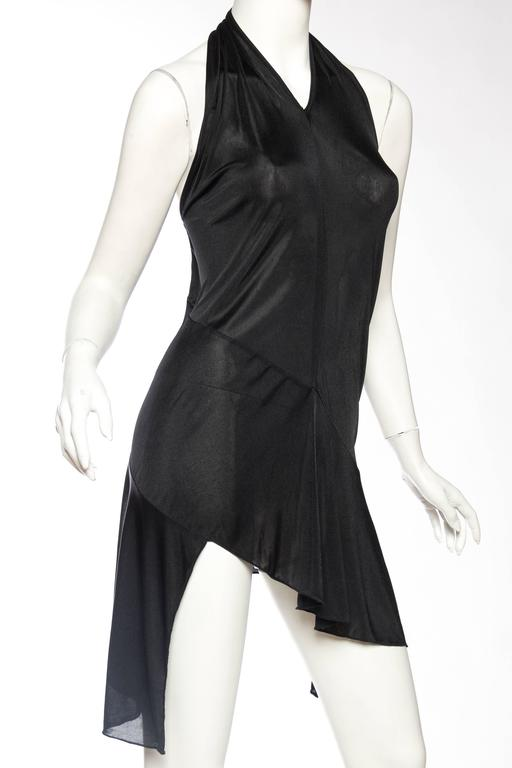 Black John Galliano Christian Dior Slinky LBD For Sale